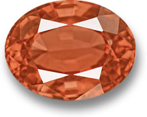 Orange Spinel Gemstone