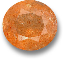 Orange Sunstone Gemstone
