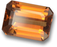 Orange Zircon Gemstone