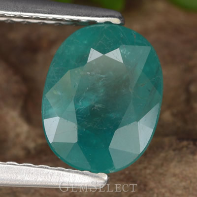 Rare, Faceted Grandidierite Gemstone
