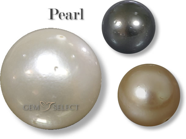 A Photo of Pearls for Cancer and Gemini from GemSelect - Large Image