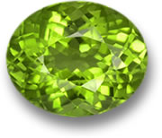 Oval Peridot Gem