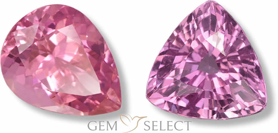 Pink Gemstones from GemSelect - Large Image