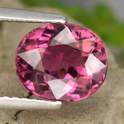 Sizzling Pink Tourmaline from GemSelect