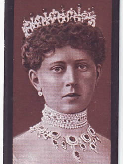 Princess Margaret Wearing her Crown and Jewelry