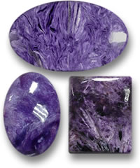 Purple Charoite Gemstones