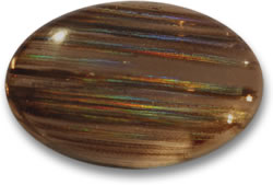 Oval Rainbow Scapolite Cabochon