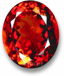 Red Imperial Topaz