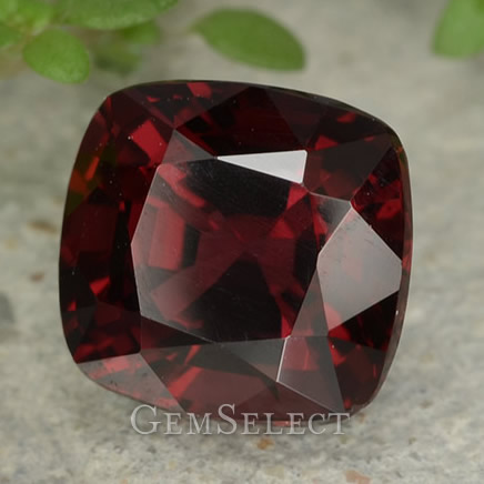 Red Tanzanian Spinel