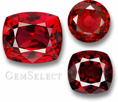 Red Spinel Gems