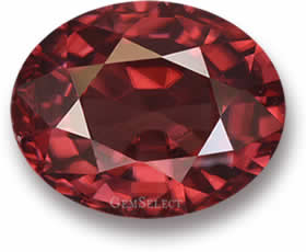 Natural Red Zircon Stone