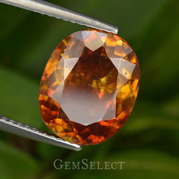 Reddish-Orange Sphalerite Gemstone