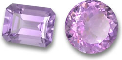 'Rose de France' Amethyst Gems