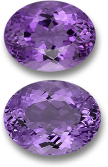 Purple Amethyst Gems