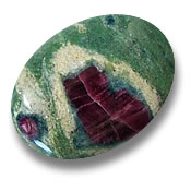 Ruby-Fuchsite Gemstone