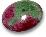 Ruby-Zoisite Gemstone