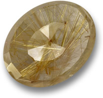 Brown Rutile Quartz Gemstone