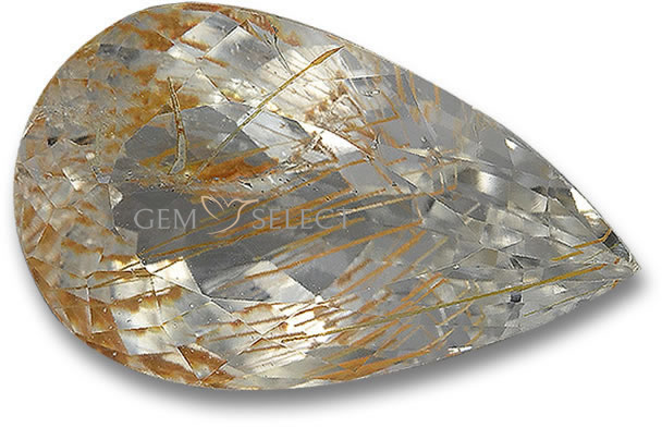 Rutile Topaz Gemstones from GemSelect - Large Image