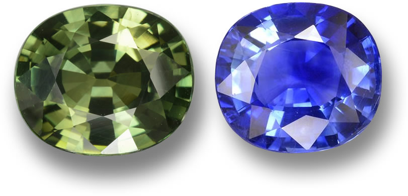 Two Sapphire Gemstones from GemSelect - Large Image