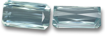 Scissor-Cut Aquamarine Gem