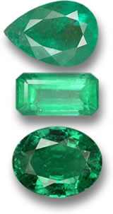 Various Emerald Gems