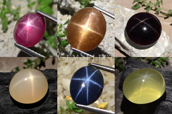 Natural Star Gemstones