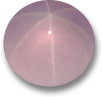 Star Rose Quarz Gemstone