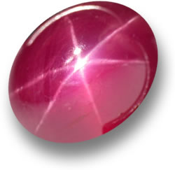 Natural Star Ruby