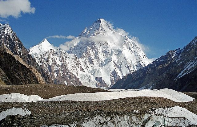 The Karakoram Mountains