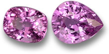 Unheated Pink Sapphire from Tanzania