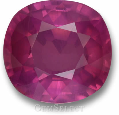 Untreated African Ruby