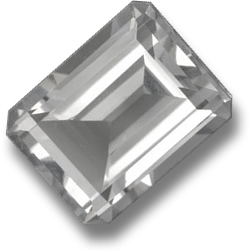 White Colorless Topaz