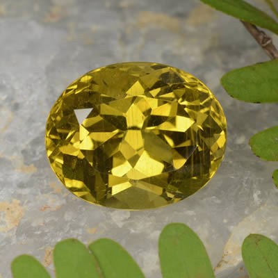 Yellow Apatite Gemstone