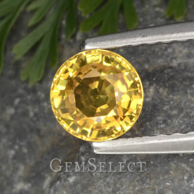 Natural Yellow Sapphire - Associated with Jupiter