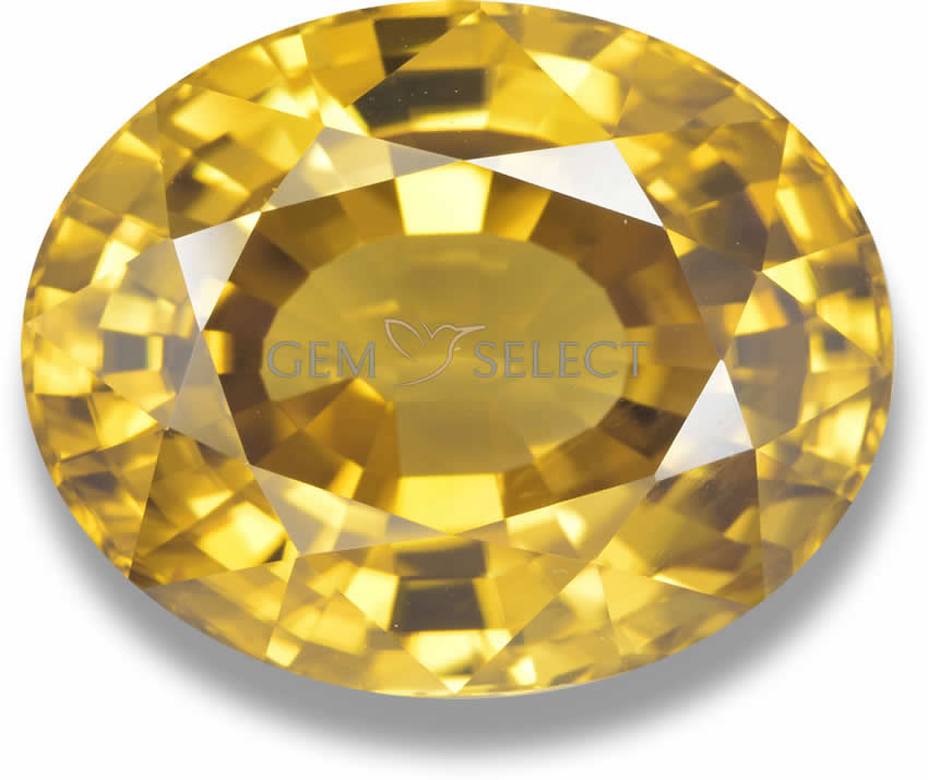 Yellow and Gold Gemstones from GemSelect - Large Image