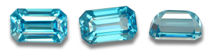 6.46ct Blue Zircon