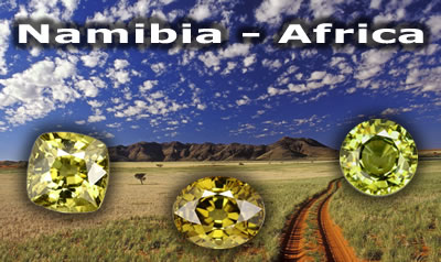 Gemstones from Namibia - Africa