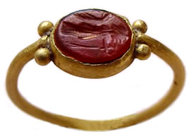 Ancient Carnelian Ring