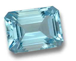 Aquamarine from India - Karur