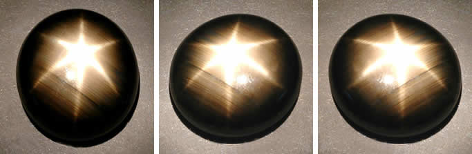Black Star Sapphire from Thailand