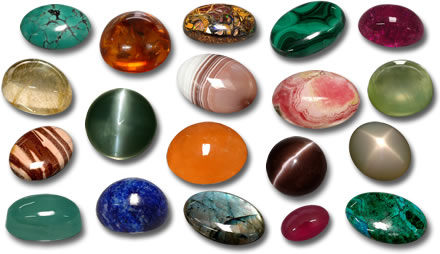 Cabochon Selection from GemSelect