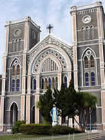 Catholic Cathedral in Chanthaburi, Thailand