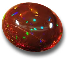 Chocolate Opal from Ethiopia