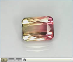 Tourmaline Gemstone Video