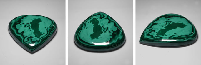 Massive Natural Malachite
