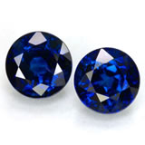 Matched Sapphire Pair