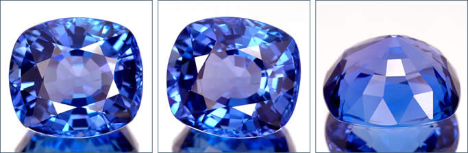 Natural Tanzanite Gemstones