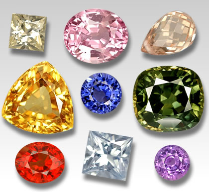 GemSelect Sapphires in all Colors and Shapes