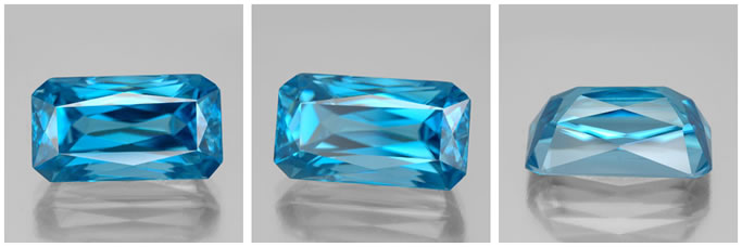 Top Grade Blue Zircon from GemSelect