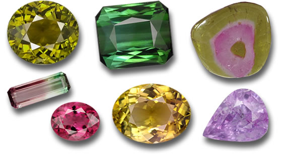 The Tourmaline Color Rainbow